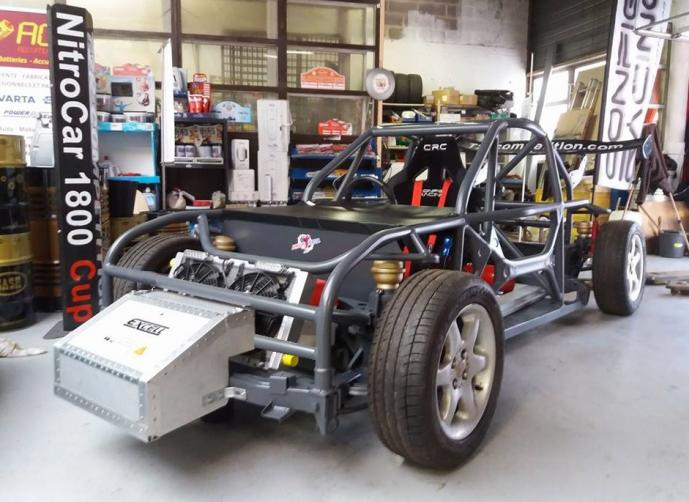 Chassis tubulaire nitrocarcup