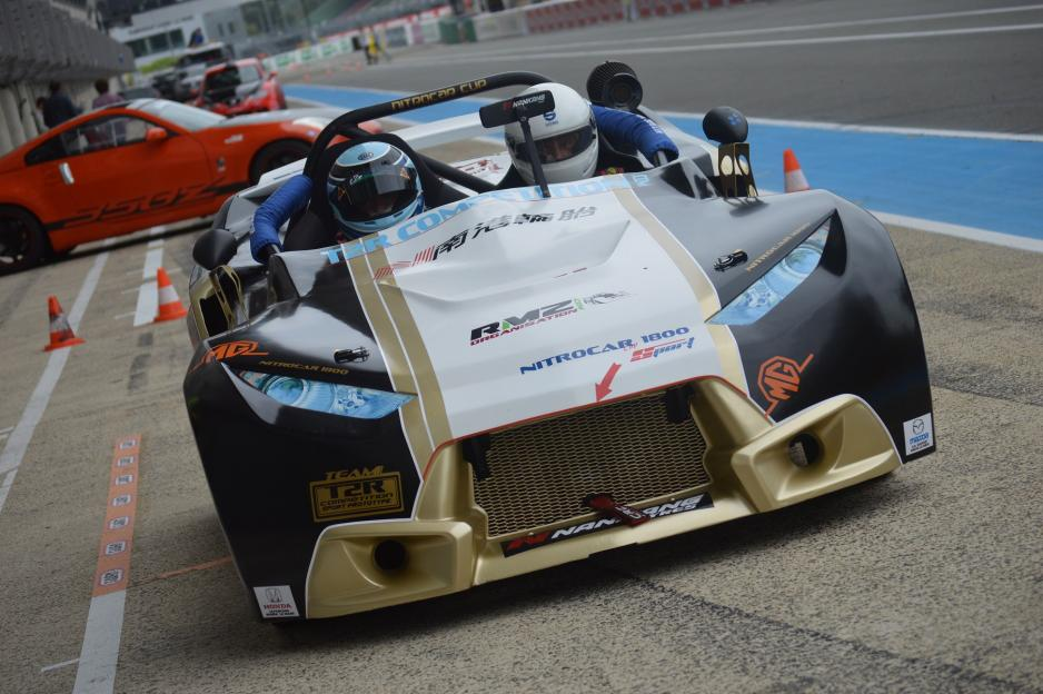 Nitro sport chassis tubulaire